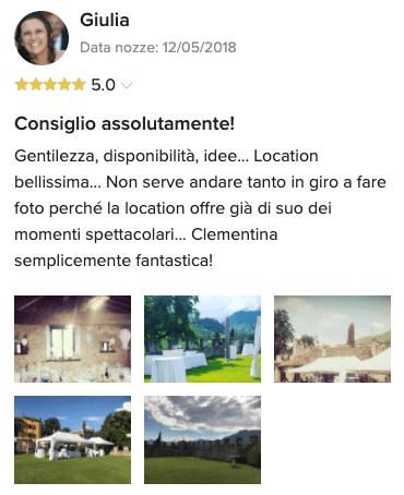 Recensione Balter su matrimonio.com_Giulia
